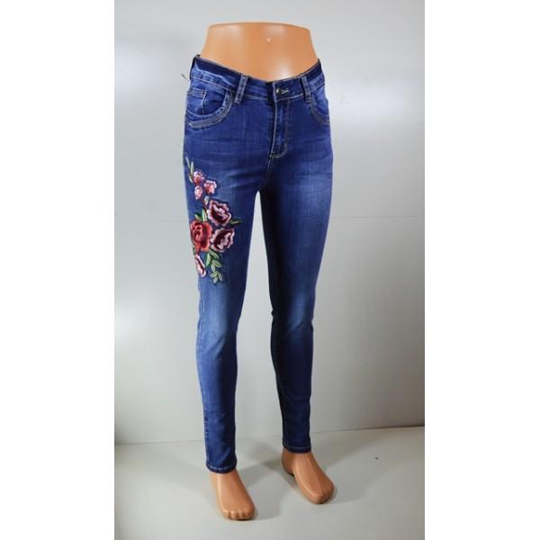 """Moteriški džinsai su gėlė """"ANA&LUCY"""""""
