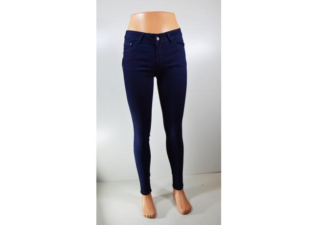 Moteriški džinsai tamsiai mėlnos spalvos GOODIES