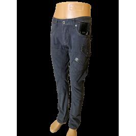 Vyriškos kelnės JUSTBOY, su kišenėmis šonuose, tamsiai pilkos