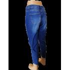 """Plėšyti moteriški džinsai """"Ourmes"""", modelio ilgis iki kulkšnies"""