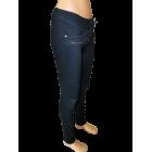 Moteriški juodi džinsai LEXXURY, moto stiliaus