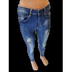 """Moteriški plėšyti džinsai  """"JOSEPHINE"""", modelio ilgis iki kulkšnies"""