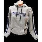 Moteriškas džemperis su gobtuvu pilkas, Undisclosed