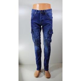 Vyriški džinsai ELYNG su kišenėmis šonuose
