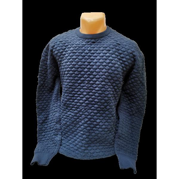 Vyriškas mėlynas megztinis VICENTE