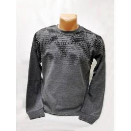Vyriškas megztinis pilkas CLUB JU